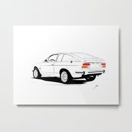 Cars and Coffee - Alfa Romeo Alfetta GTV Metal Print