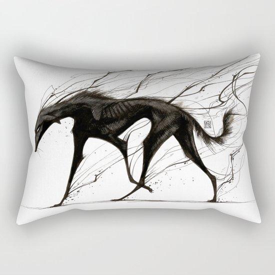 Raising Shadows Rectangular Pillow