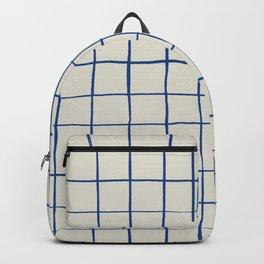 BASIC | Criss Cross Blue Backpack