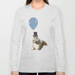 party squirrel Long Sleeve T-shirt