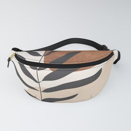 Abstract Art /Minimal Plant 12 Fanny Pack