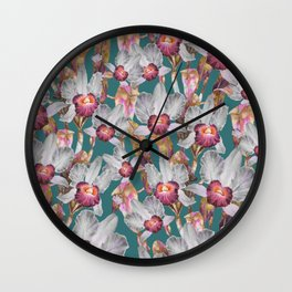 Orchid 2020 - 01 - GBG Wall Clock