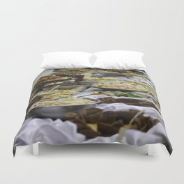Catered Foods Duvet Cover