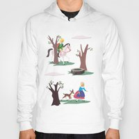 fairy tale Hoodies featuring fairy tale by notbook