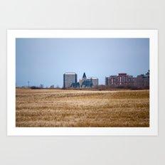Saskatoon Art Print