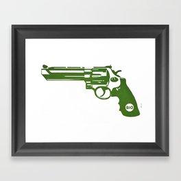 Bio Framed Art Print