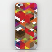 edm iPhone & iPod Skins featuring Life like a Geometry by Sitchko Igor