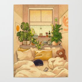 Cozy Space Poster