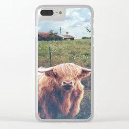 Hello Neighbors Cow Clear iPhone Case