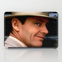 jack nicholson iPad Cases featuring Jack Nicholson @ China Town by Gabriel T Toro
