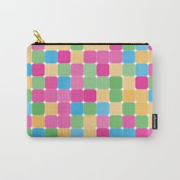 Colorfull square pattern Carry-All Pouch