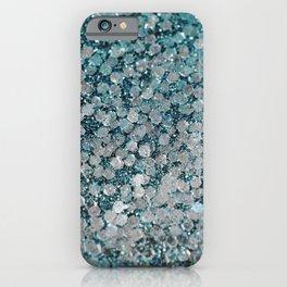 Mermaid Scales Aqua Sol iPhone Case
