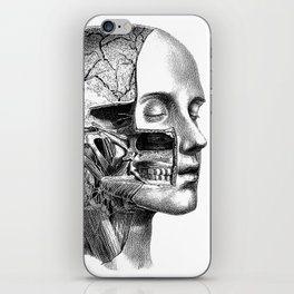 I rip your face iPhone Skin