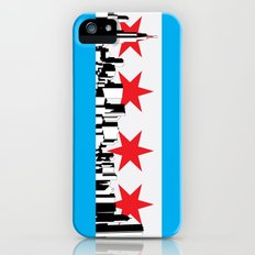 New Chicago Flag iPhone (5, 5s) Slim Case