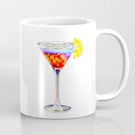 Summer cocktail with lemon mix drink Coffee Mug