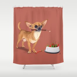 Spicy (Colour) Shower Curtain