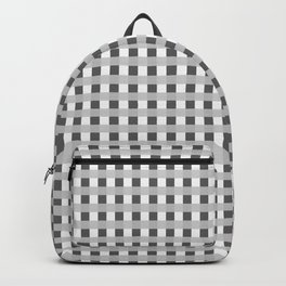Retro Black and White Squares Backpack
