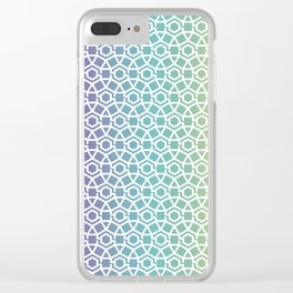Gravity Tesselation Clear iPhone Case