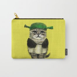 Shreky Cat Carry-All Pouch