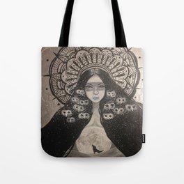 She Brings The Night Tote Bag
