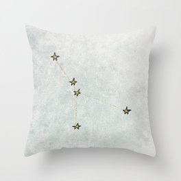 Cancer x Astrology x Zodiac Throw Pillow