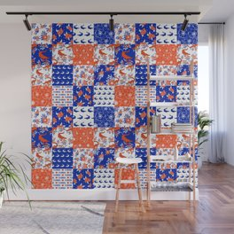 Florida University gators swamp life varsity team spirit college football quilted pattern gifts Wall Mural