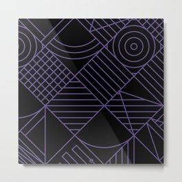 Violet Whackadoodle Metal Print
