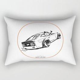 Crazy Car Art 0122 Rectangular Pillow