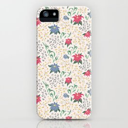 Tropical Opulence Pattern iPhone Case