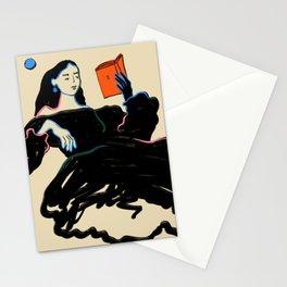 MIDNIGHT READING Stationery Cards