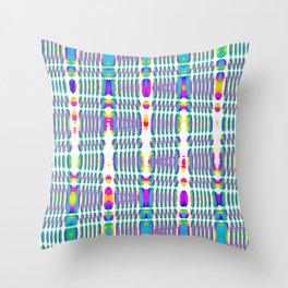 rhombus sky Throw Pillow