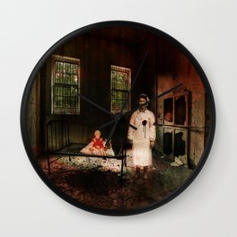 The Nurse - A Ghost Story Wall Clock