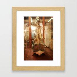 La Pinta Framed Art Print