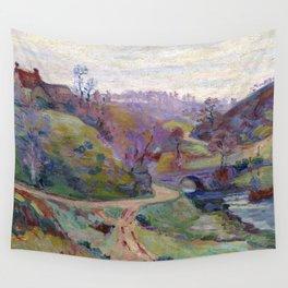Armand Guillaumin Crozant Pont Charraud Wall Tapestry