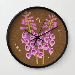 FOXGLOVE Wall Clock