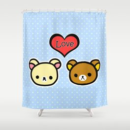 Bear Love Shower Curtain