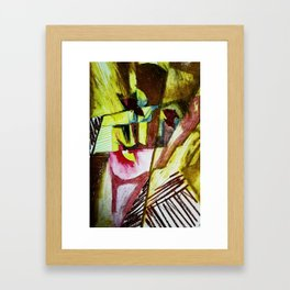 In Reality I am Divided Framed Art Print