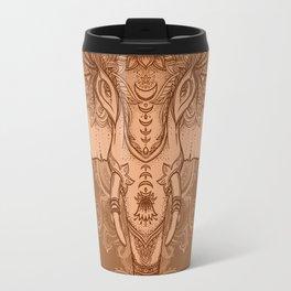 Sepia Ganesha Travel Mug