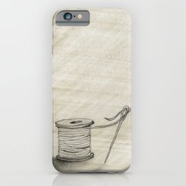 Sewing Time iPhone Case