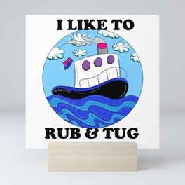 Rub N Tugboat- BI2 Mini Art Print