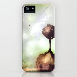 Little lost tree iPhone Case