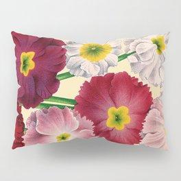 Vintage Primrose Print Pillow Sham