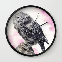 Athena Pink Wall Clock