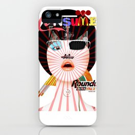 Crazy Woman - Cusy Consume/Collab with Hugo Barros iPhone Case