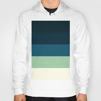 nautical Hoodies featuring Nautical Stripes by Simply Chic