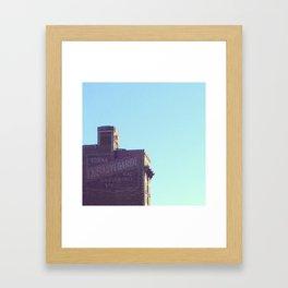 SAVE MTL Framed Art Print