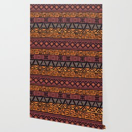 Tribal ethnic geometric pattern 021 Wallpaper
