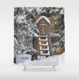 Keeping Things Way Cool Shower Curtain