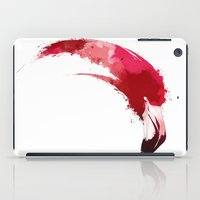 flamingo iPad Cases featuring Flamingo by KUI29