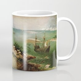 Pieter Bruegel the Elder's Landscape with the Fall of Icarus Coffee Mug